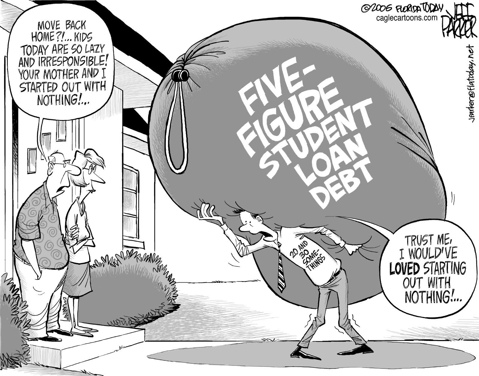 How does a middle class kid get student loands and aid from the government?